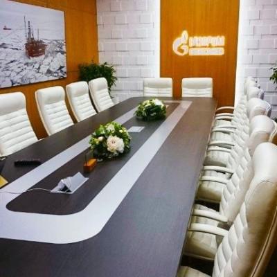 """Кресла для переговорной """"Газпром"""""""
