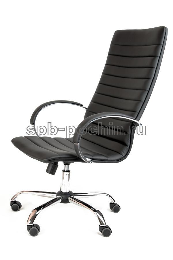 Кресло руководителя КР-18 черное