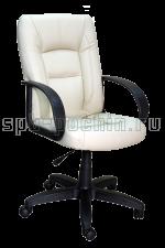 Офисное кожаное кресло  КР-22