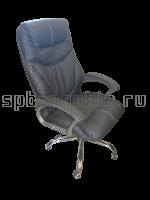 Кресло кожаное КР-25 в комплектации «Хром»