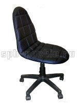 Кресло кожаное компьютерное КР-12 черное