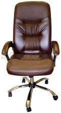 Стильное кресло руководителя КР-13 в комплектации «Хром»