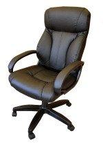 Комфортное кресло руководителя КР-19 (2610) черного цвета
