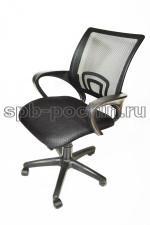 Кресло офисное КР-3 в черном цвете