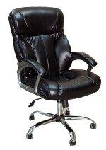 Кресло руководителя КР-19.1 в комплектации «Хром»