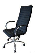 Кресло руководителя КР-18 (ткань) в комплектации «Хром»