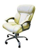 Стильное кресло руководителя КР-19.1 в комплектации «Хром»