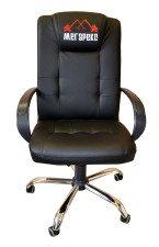 Кресло  КР-15 с вышивкой в комплектации «Хром»