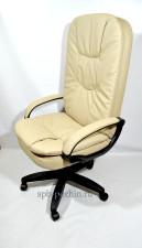 Компьютерное кресло руководителя КР-23 (2610) с высокой спинкой, бежевое