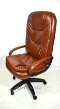 Компьютерное кресло руководителя КР-23 (2610) с высокой спинкой,  мустанг