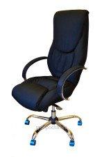 Кресло руководителя КР-4  Люкс (ткань) в комплектации «Хром»