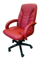 Кресло офисное КР-10н  красное