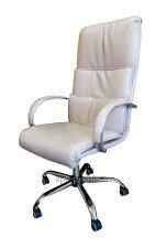 Офисное кресло руководителя КР-16а в комплектации «Хром»