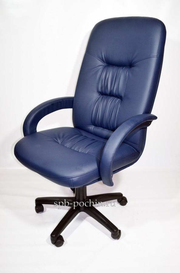 Компьютерное кресло КР-13 синего цвета