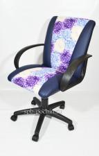 Кресло компьютерное КР-11синее