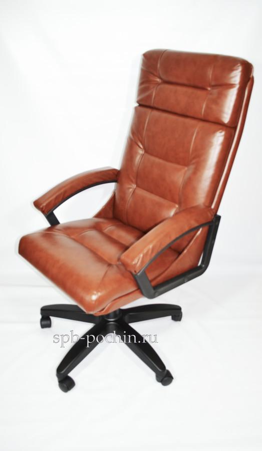 Купить кресло,практичное и недорогое кресло руководителя с высокой спинкой.