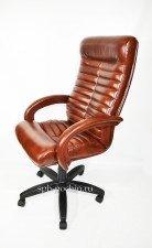 Коричневое компьютерное кресло КР-14н (мустанг)