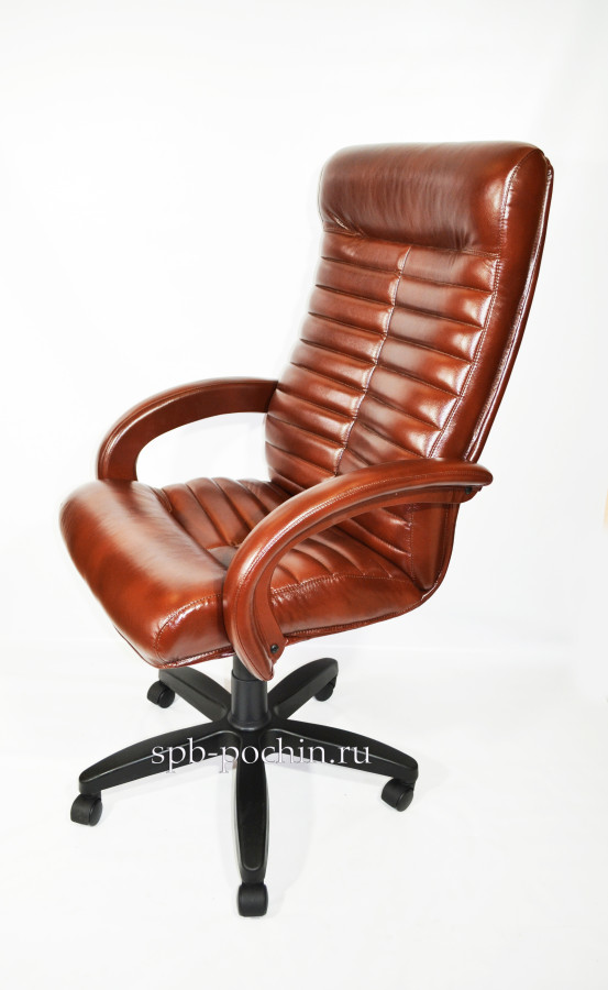 Коричневое компьютерное кресло КР-14н