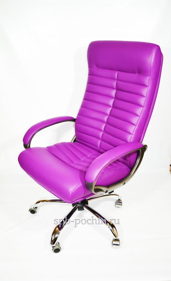 Кресло руководителя КР-14 в комплектации хром
