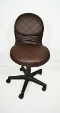 Кожаное компьютерное кресло КР-12 .1