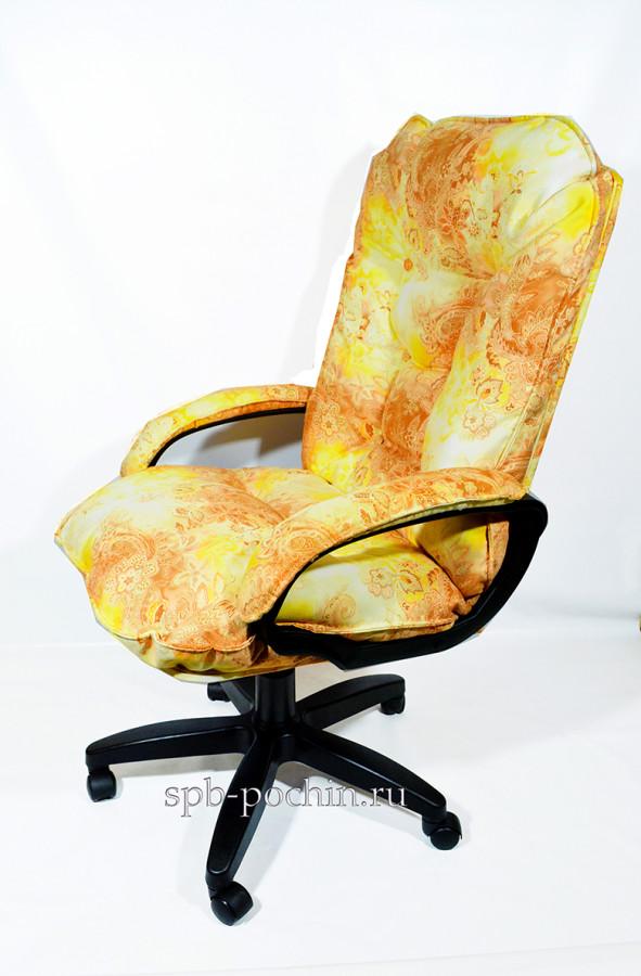 Мягкое удобное компьютерное кресло КР-28 из ткани Компания Почин предлагает мягкое удобное компьютерное кресло КР-29 из ткани.