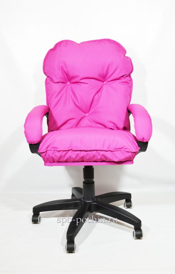 Мягкое удобное компьютерное кресло КР-29