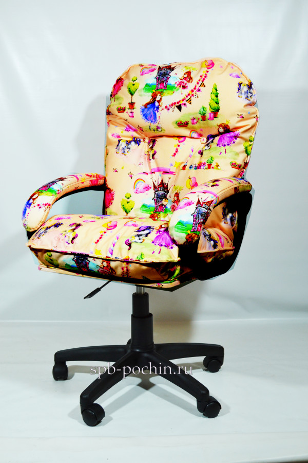 Мягкое удобное компьютерное кресло Принцессы КР-29