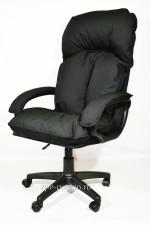 Компьютерное кресло черное КР-27   тканевое