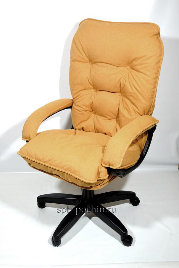 Мягкое удобное компьютерное кресло КР-28 из ткани Компания Почин предлагает мягкое удобное компьютерное кресло КР-29 из ткани