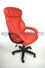 Кресло руководителя КР-19.1 У красное с высокой спинкой
