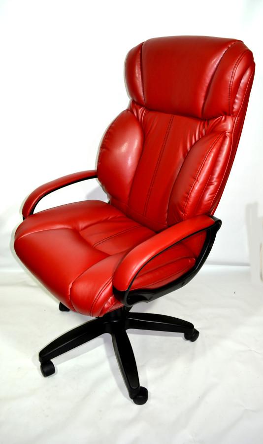 Кресло руководителя КР-19.1 (2610) красного цвета