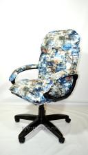 Мягкое удобное компьютерное кресло КР-29 тканевое