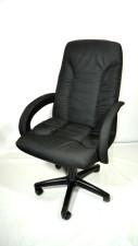 Офисное кресло КР-10н черное  тканевое