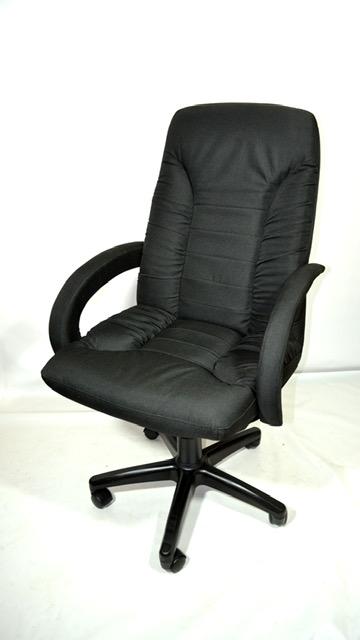 Офисное кресло КР-10н черное