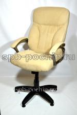 Кресло  тканевое КР-19.1 (2610) бежевый флок