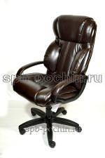 Кресло руководителя КР-19.1 (2610) коричневый нокс