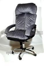 Компьютерное кресло для больших людей до 130 кг  КР-27Ц  велюр