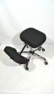 Компьютерное кресло КР-8 коленный стул мини ткань в комплектации «Хром»,