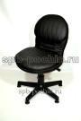 Кресло кожаное компьютерное КР-12 .1 черное