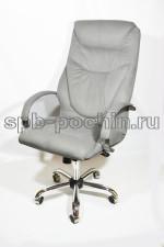 Офисное кресло руководителя тканевое КР-25а флок