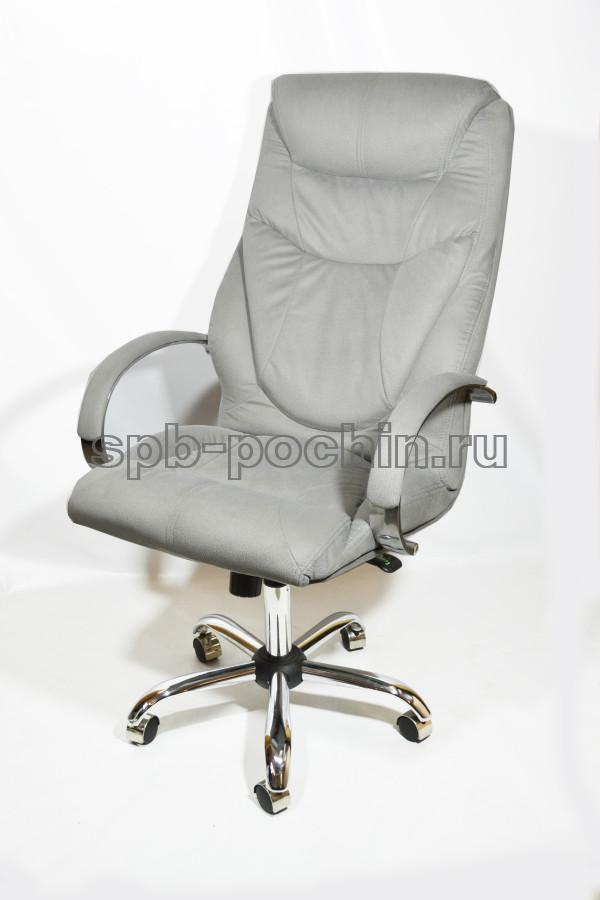 Офисное кресло руководителя тканевое КР-25а