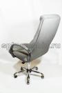 Офисное кресло руководителя тканевое КР-25а флок,