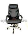 Офисное кресло руководителя КР-25А в комплектации хром