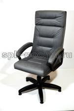Кресло руководителя  КР-7 серое ткань
