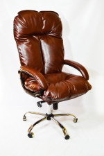 Компьютерное кресло для больших людей  КР-27Ц до 150 кг