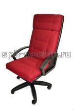 Кресло руководителя КР-7 красно-черное