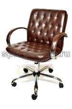 Кресло руководителя КР-9 макси в комплектации «Хром»
