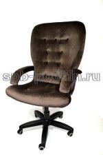 Компьютерное кресло КР-30 коричневое ткань