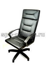 Кресло офисное КР-7 лайт цвет черный