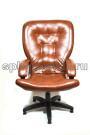 Кожаное компьютерное кресло КР-30 мустанг